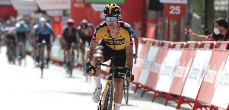 Vuelta 2021: Primoz Roglic troeft Mas af in Valdepeñas de Jaén