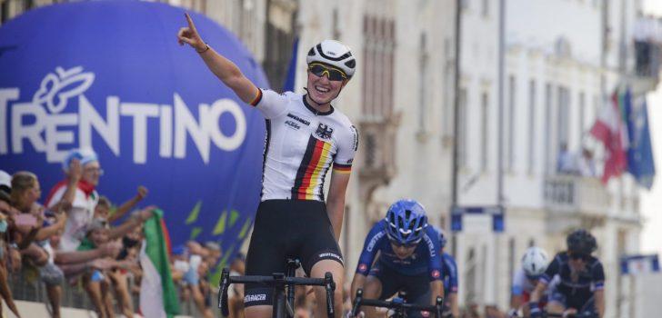 EK 2021: Duitse Linda Riedmann wint wegkoers voor junior-vrouwen