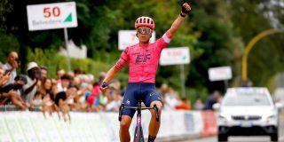 """Michael Valgren wint Giro della Toscana: """"Dit was zwaarder dan de Amstel Gold Race"""""""