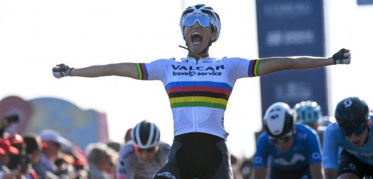 Demi Vollering stelt eindzege in Women's Tour veilig, Elisa Balsamo wint slotrit