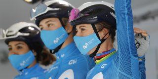Annemiek van Vleuten loopt alweer voorzichtig na zware val in Parijs-Roubaix