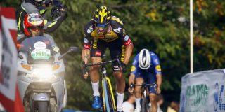 """Primoz Roglic wint weer op de San Luca: """"Ik heb een hoop goede herinneringen aan deze klim"""""""