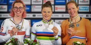 Lotte Kopecky sterkste op WK puntenkoers, brons voor Kirsten Wild