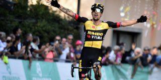 Primoz Roglic wint spectaculaire editie van Giro dell'Emilia