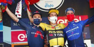 Primoz Roglic kent ploeggenoten voor Ronde van Lombardije